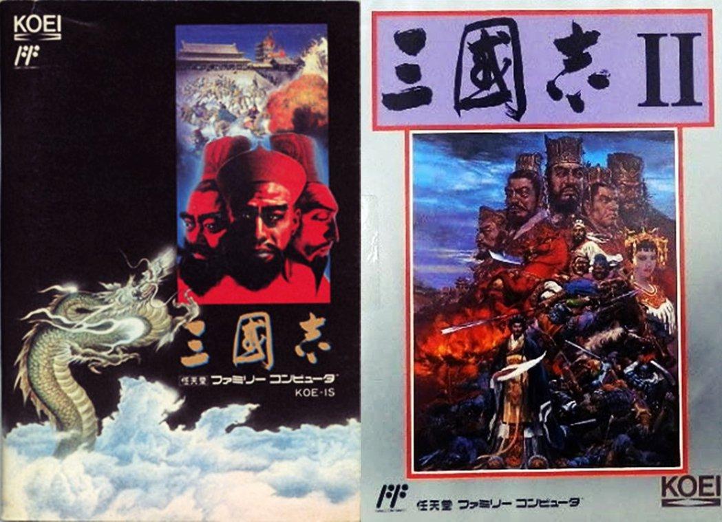 1985年的三國志(FC版1988發售)、1989年的三國志II(FC版1990...
