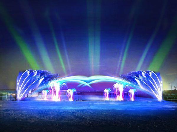 2020國際澎湖灣燈光節,今年主題為『海島樂園』 圖/取自澎湖國家風景區管理處