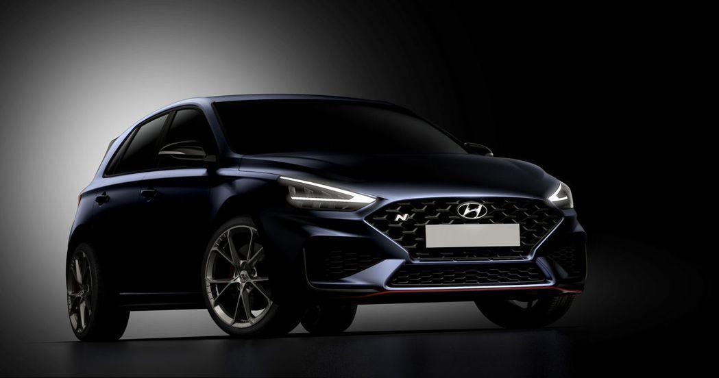 小改款Hyundai i30 N預告發表。 摘自Hyundai