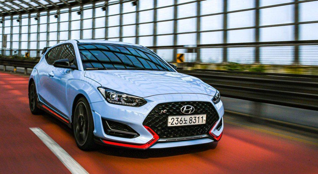 2021年式Hyundai Veloster N是品牌首款配置N DCT的性能車...