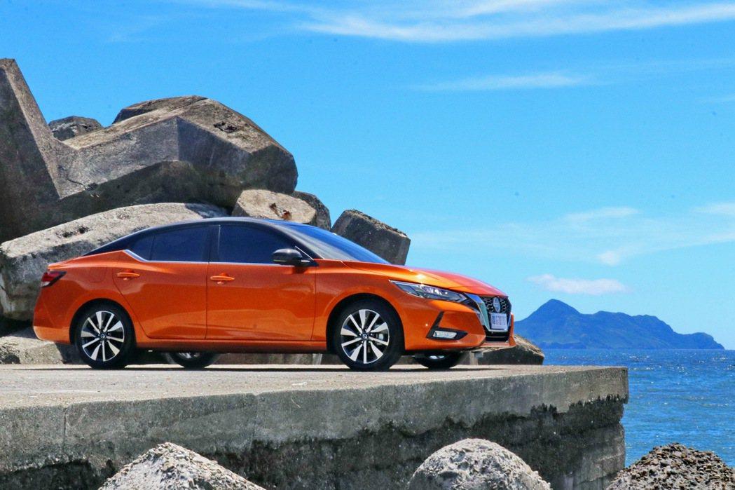 Nissan Sentra預售開跑,售價74.9萬起。 記者陳威任/攝影