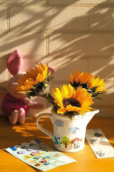 向日葵。 圖/朱雀文化提供