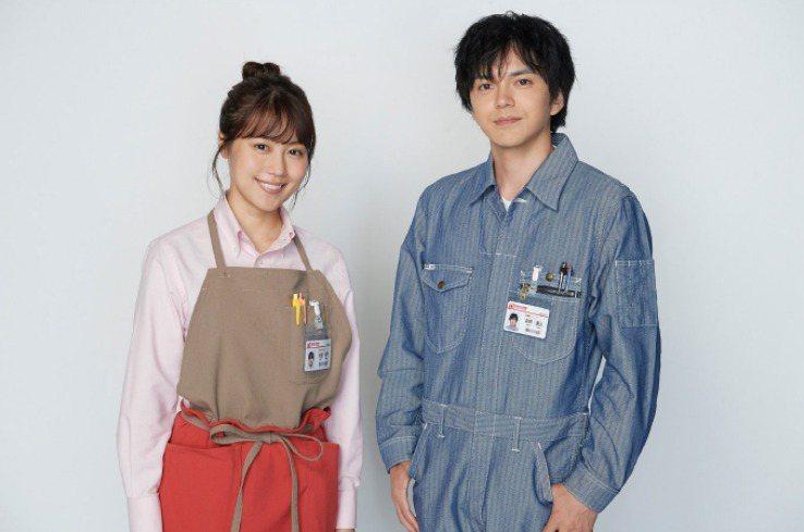 有村架純(左)、林遺都主演「岡田惠和」的原創日劇《姊姊的戀人》。圖/擷自官網