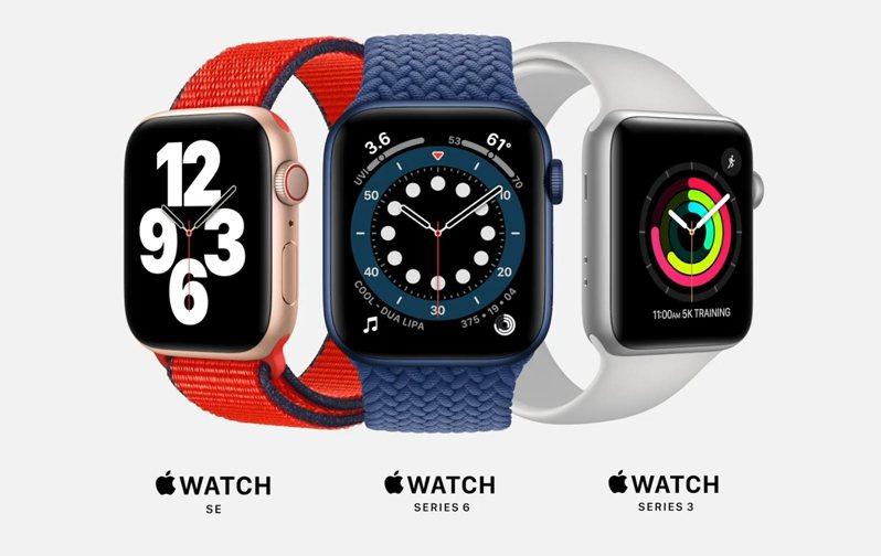 蘋果凌晨1時舉行線上發表會,發表新的智慧手表產品Apple Watch Series 6與Apple Watch SE。 圖/擷取自蘋果新品發表會直播