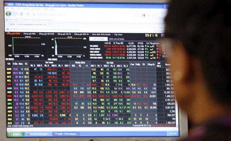 越南股市。示意圖/路透