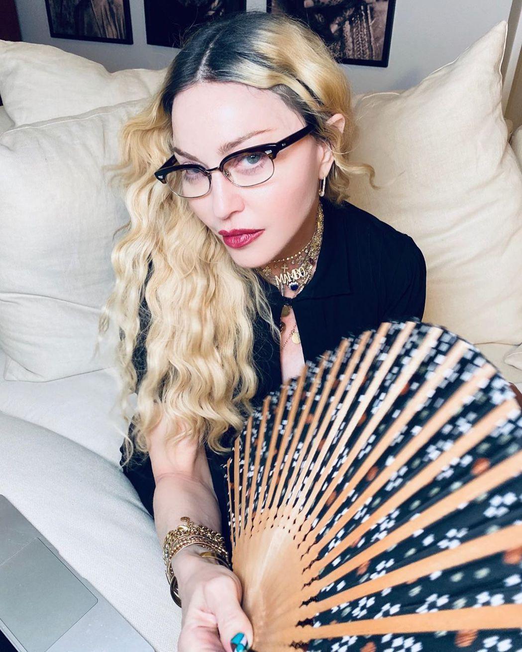 瑪丹娜。圖/擷自IG