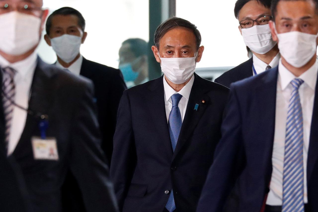 日皇德仁任命認證 菅義偉內閣正式上路
