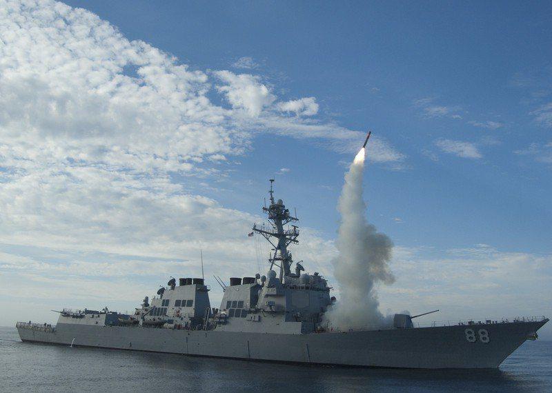 美軍巡弋飛彈。 歐新社資料照