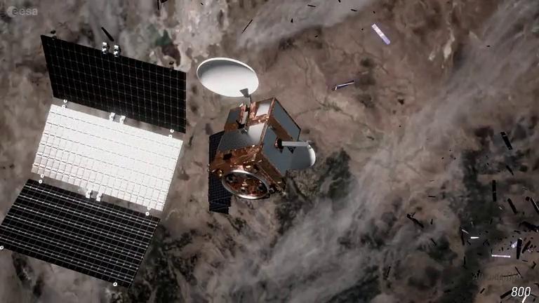 隨著太空探索與發射任務的累積,太空垃圾成為軌道上難以避免的挑戰,英國宇航局便決定資助航太科技公司,一起找尋應對方式。(photo from Wikimedia)