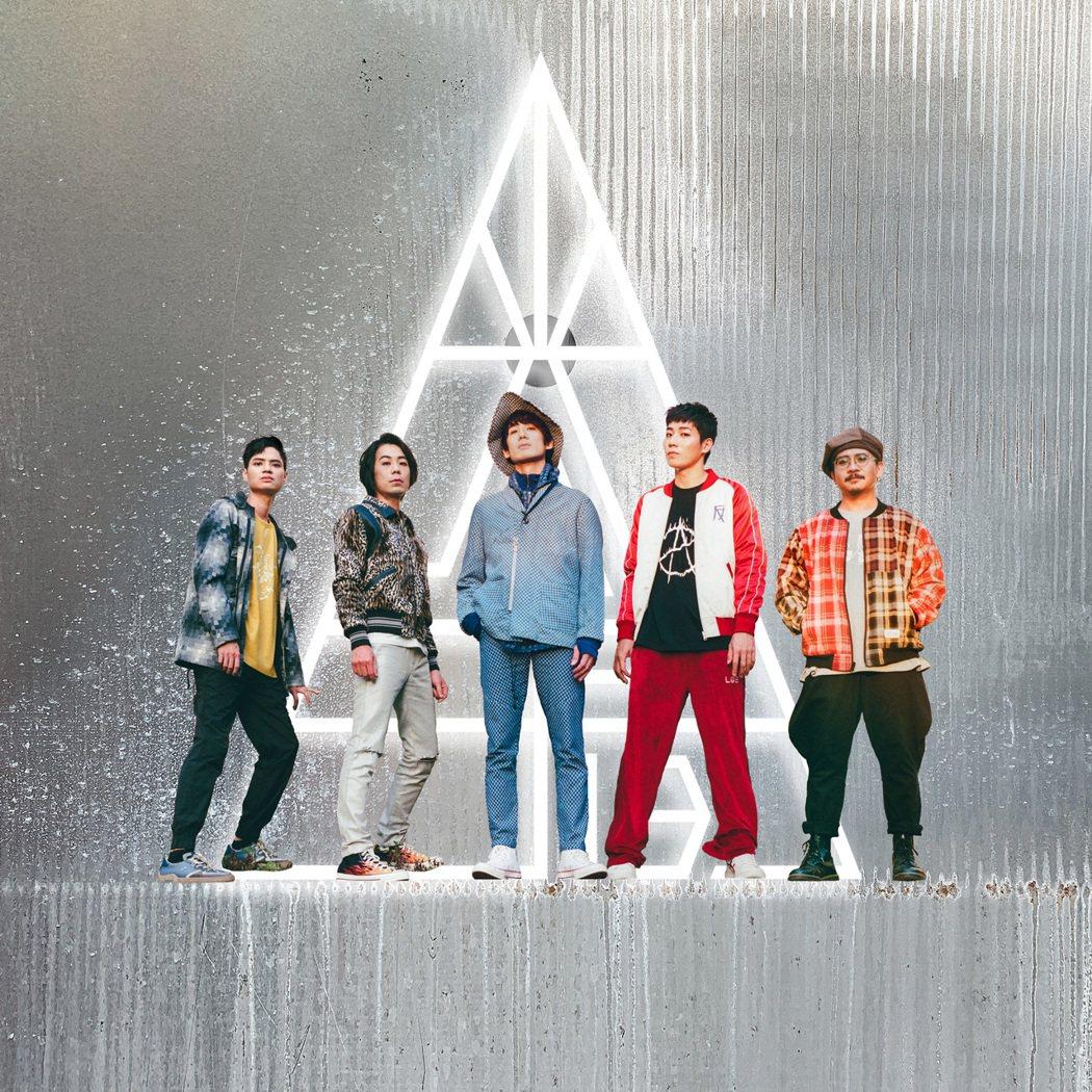 拾叁樂團推出新專輯「光子」。圖/典選音樂提供