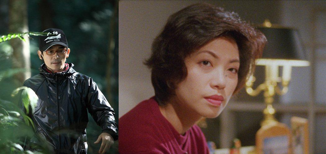 魏德聖(圖左)執導的「黎明之前」邀請蔡琴(圖右)擔任女主角。圖/高雄電影節提供
