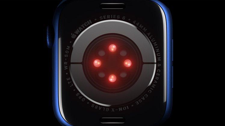 透過全新感測器與專屬App,Apple Watch Series 6可隨時測量你...