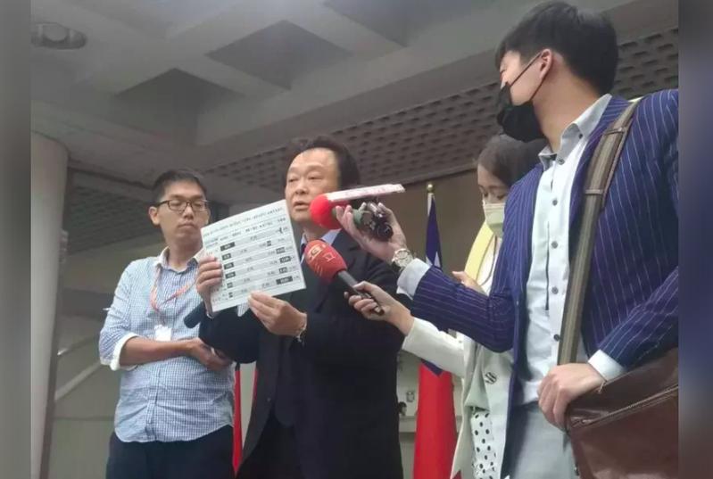 王世堅辦公室主任沈志霖今天在臉書反嗆王浩宇,「民進黨不是一言堂、直言不諱是為阿中好。」本報資料照片
