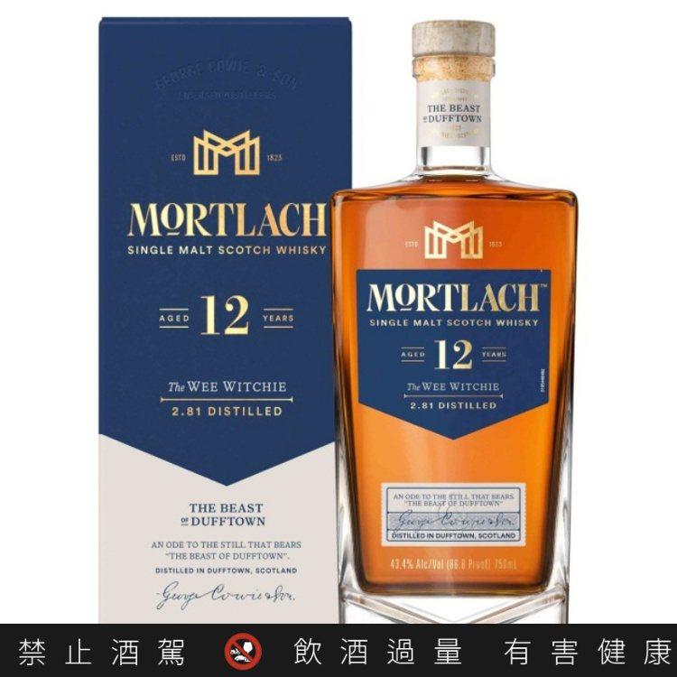 慕赫2.81的12年單一麥芽威士忌的肉脂感(Meaty),是品牌神髓所在。圖/帝...