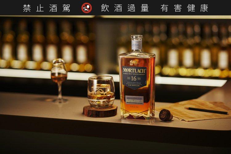 慕赫2.81的16年單一麥芽威士忌,濃郁、深沉、甜蜜,非常迷人。圖/帝亞吉歐提供...