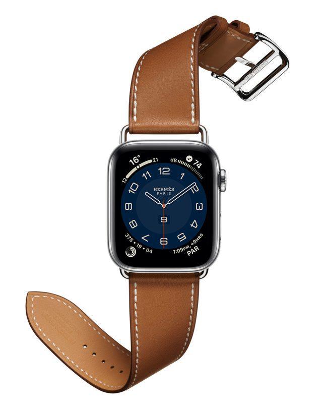 第六代Apple Watch Hermès搭配Hermès Attelage...