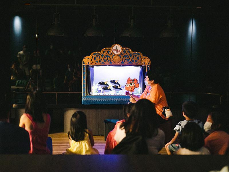 COZZI Blu館內每日活動豐富多樣,闖關遊戲「Blu Hunt海底歷險計」、...