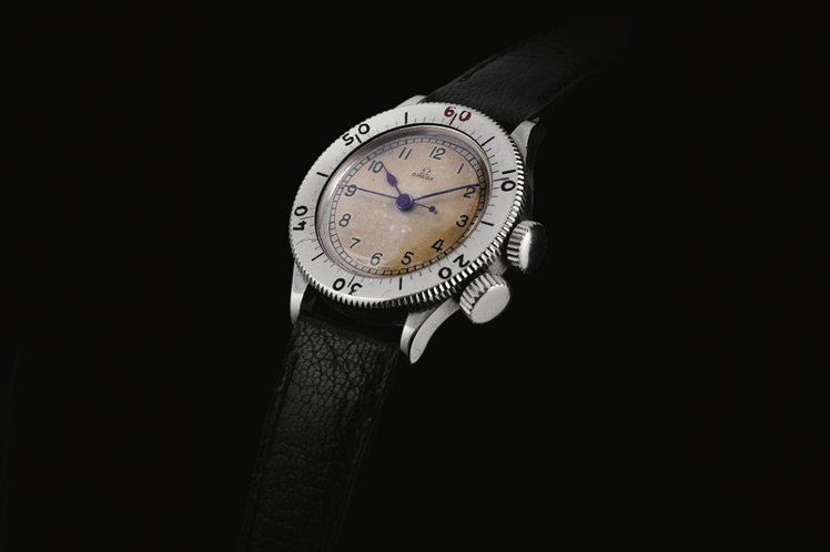 編號CK 2129的OMEGA腕表曾為Tom Hardy在電影Dunkirk中配...