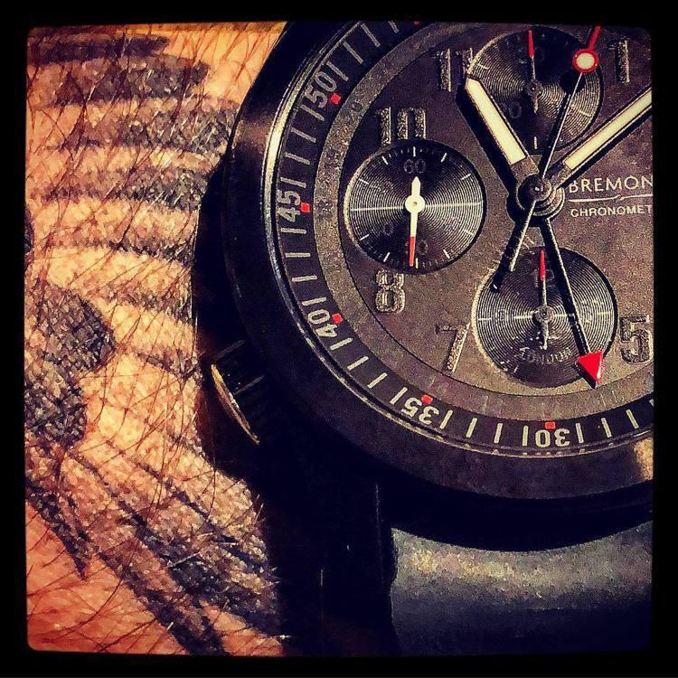 源自英國的Bremont,軍事風格的計時碼表也是品牌長青系列之一。圖 / 翻攝自...
