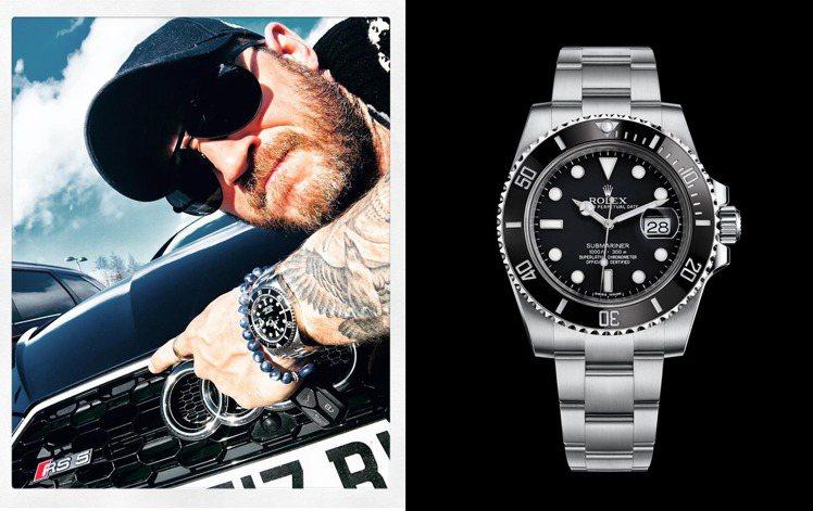 Tom Hardy曾於instagram帳號秀出勞力士腕表與愛車。圖 / 翻攝自...