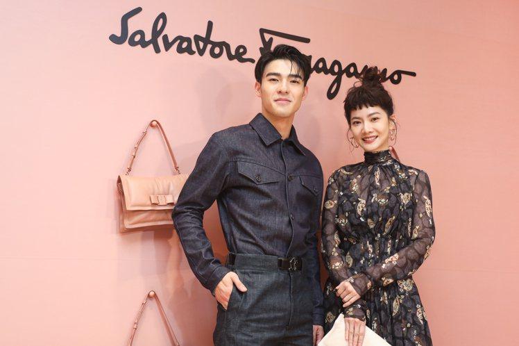 義大利時尚品牌Salvatore Ferragamo發表秋冬系列,邀請曾之喬、陳...