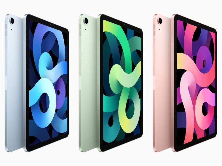 全新iPad Air備有5種精美外觀可供選擇,除了銀色、太空灰色,還有超夢幻的玫...