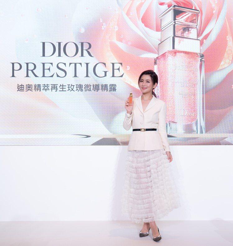 DIOR迪奧「花蜜大使」任家萱Selina。圖/Dior提供