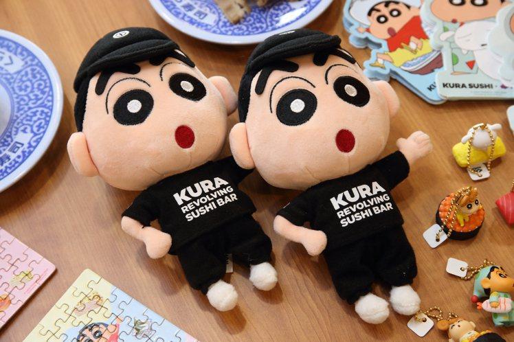 活動特別獎,是蠟筆小新身著藏壽司制服的絨毛玩偶。記者陳睿中/攝影