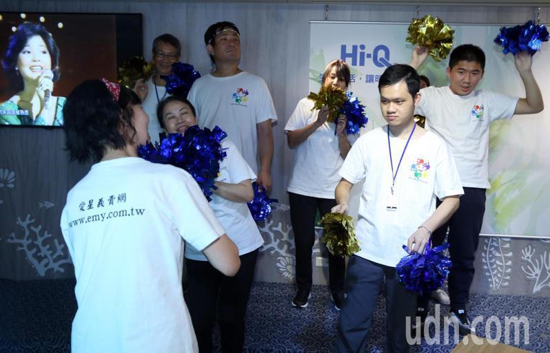 「一起關懷自閉症星兒,共同為特奧小英雄致敬」活動下午舉行。記者曾吉松/攝影
