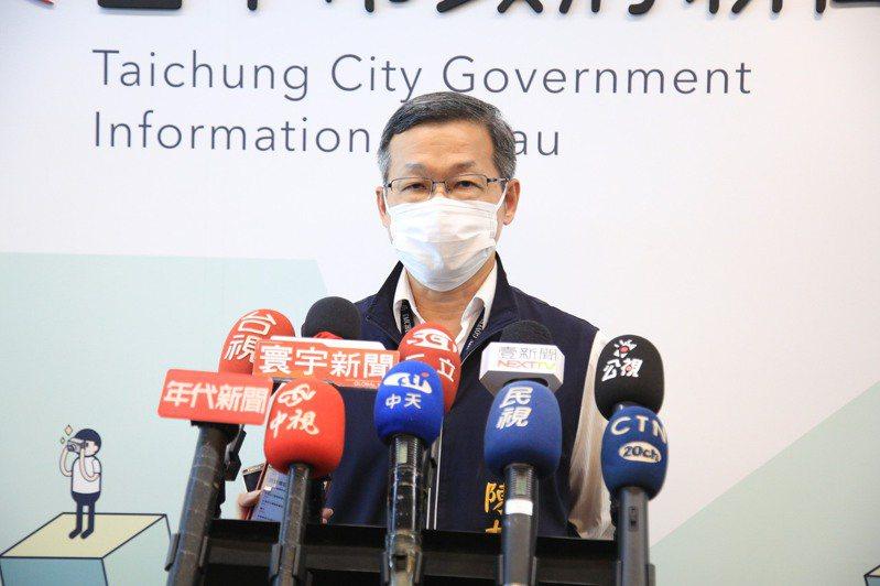 台中建設局長陳大田被爆疑公車私用,他出面澄清表示私用行程都自費加油,一切合法。記者陳秋雲/攝影