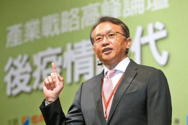 宏碁董事長陳俊聖。 記者林俊良/攝影
