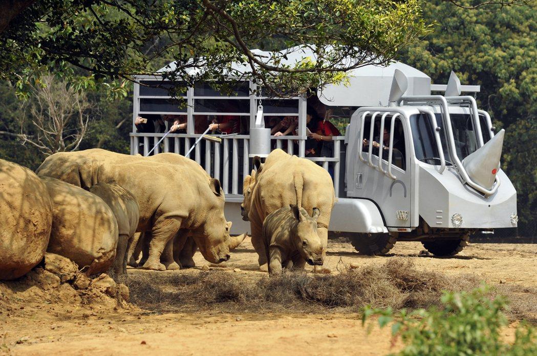 六福村野生動物園是台灣少數採開放式經營的動物園,遊客可搭遊園車近距離觀賞動物。 ...