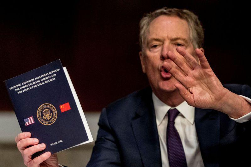 美國貿易代表賴海哲駁斥WTO的裁決。 (美聯社)