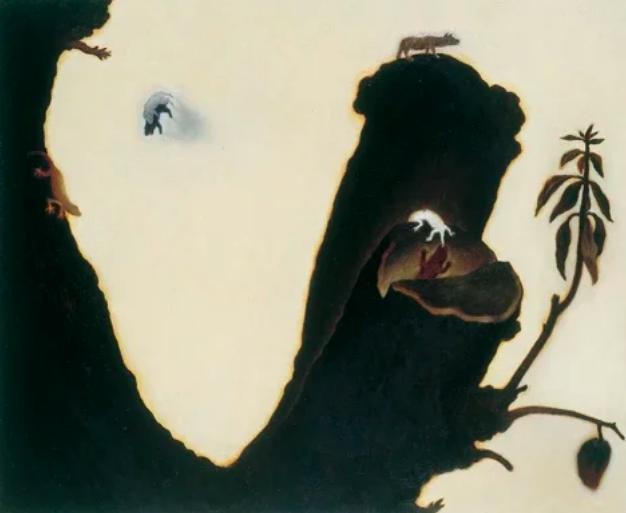 蘇旺伸2001年作品「樹結果」。 圖/姚謙提供