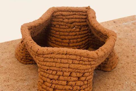 科學家開發出利用土壤3D列印的技術。  圖/美國化學學會新聞稿(Aayushi...
