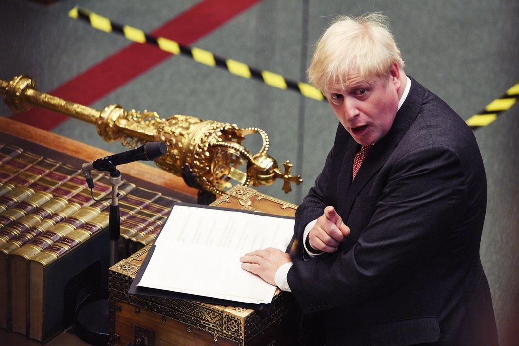 英國首相強生提出的《內部市場草案》(Internal Markets Bill)...