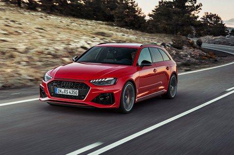 豪華性能旅行車領頭!小改款Audi A4/A4 Avant/RS 4 Avant售價公布