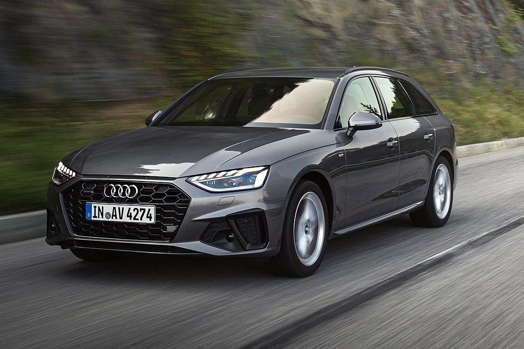 Audi A4/A4 Avant S line版車型師法Audi Sport賽車...