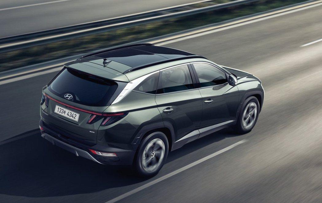 大改款Hyundai Tucson在韓國市場共提供了2.0升柴油渦輪、1.6升汽...