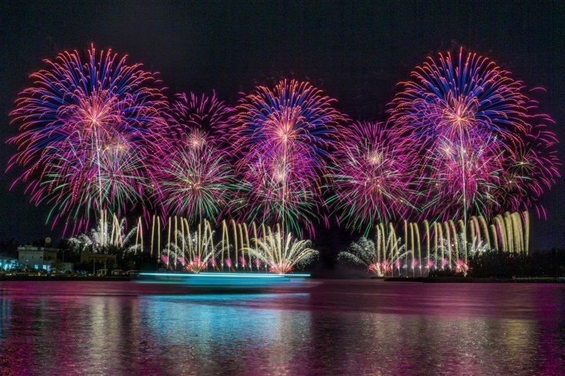 9月27日「將軍火音樂節」的花火秀,將為國慶焰火暖身。 圖/台南市政府提供