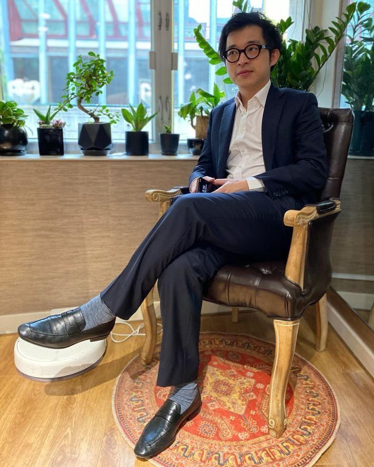 香港藝人林作。圖/擷自臉書
