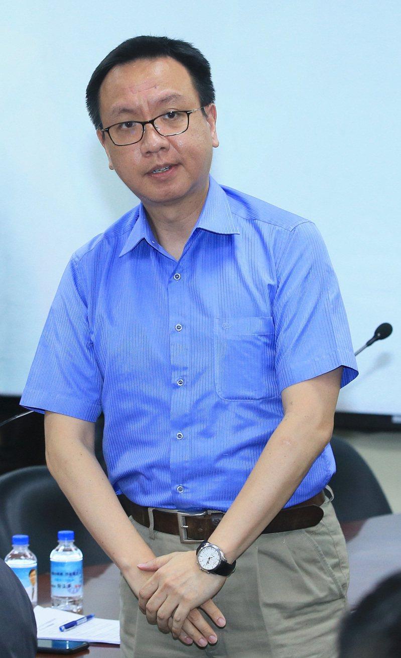 國民黨國際事務部主任李大中。聯合報系記者潘俊宏/攝影