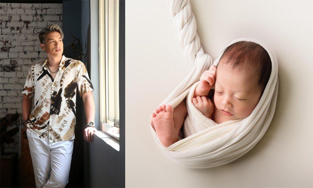 許孟哲的女兒Doreen才出生,可愛的模樣讓當老爸的心都融化了。圖/記者邱德祥攝