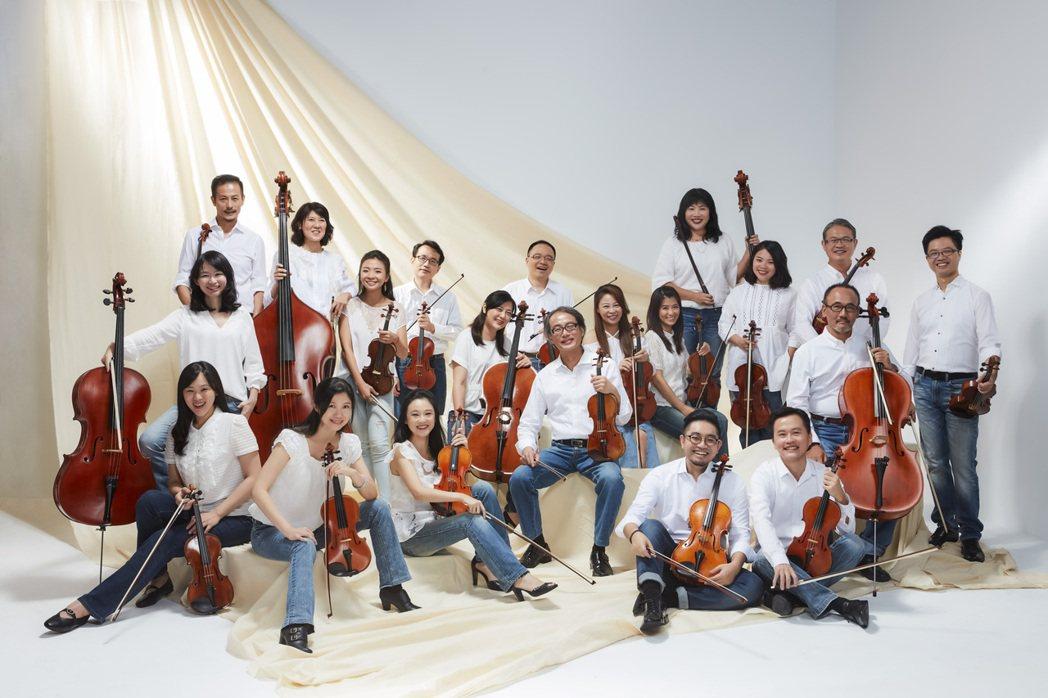 台灣絃樂團1990年10月正式組團,今年將迎來30周年。 圖/台灣絃樂團提供
