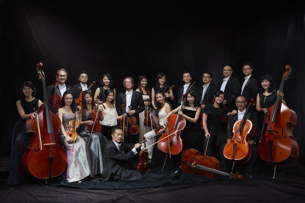 古典音樂數百年至今,交雜西方多重意義的指紋,但台灣絃樂團的道路,仍暗示著極「進步」的方向:它完全是在台灣社會成長起來的樂團。 圖/台灣絃樂團提供