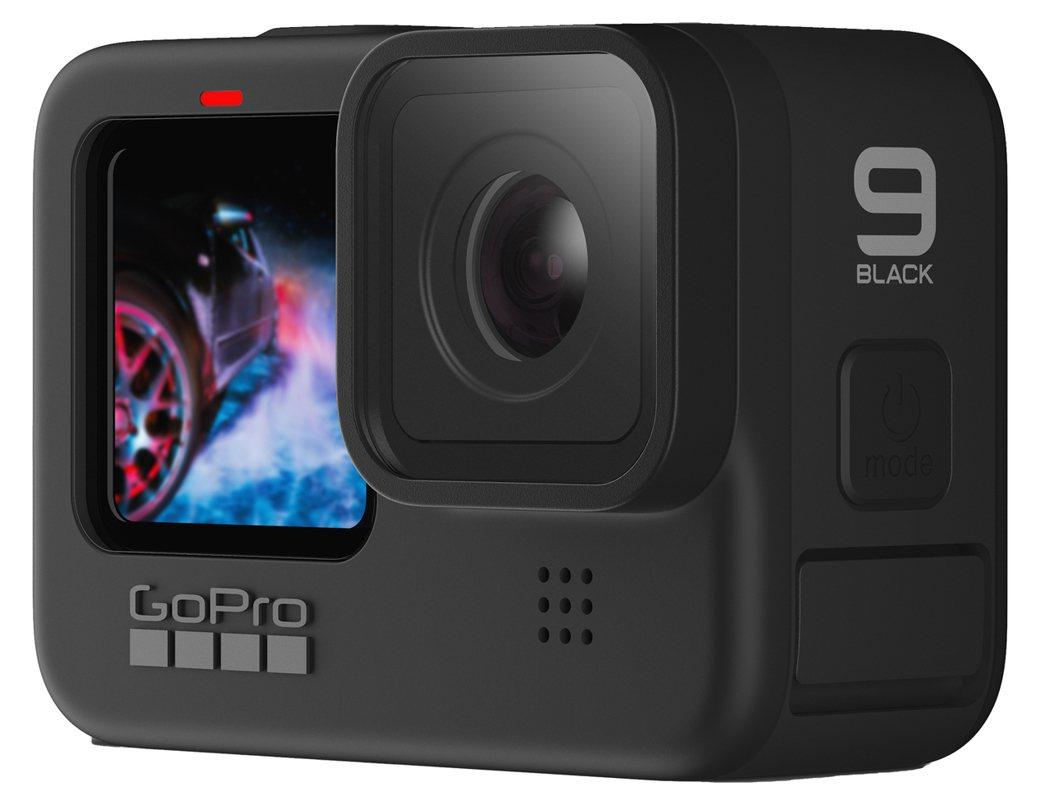 HERO9 Black9另提供前螢幕,有利自拍使用,對於GoPro也是全新創舉。...