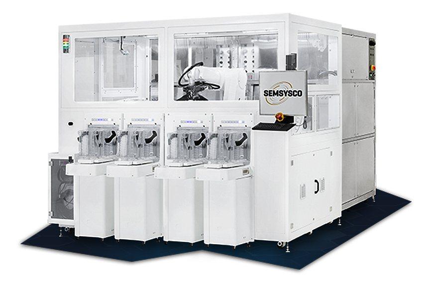 GALAXY批量處理晶圓機台。 SEMSYSCO公司/提供