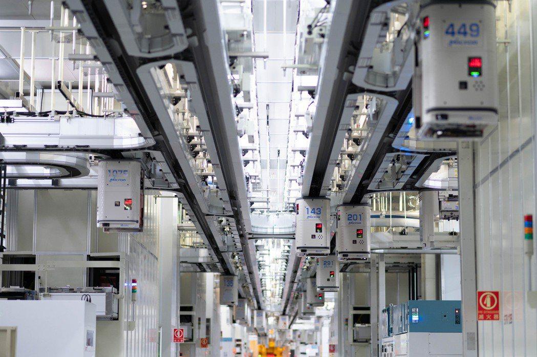 美光台灣入選世界經濟論壇「全球燈塔工廠網絡」。 美光/提供