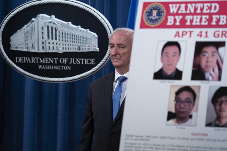美國司法部今天起訴5名中國籍駭客,他們涉嫌對100多家機構進行網路攻擊,傳台灣一所大學也在受害之列。 美聯社