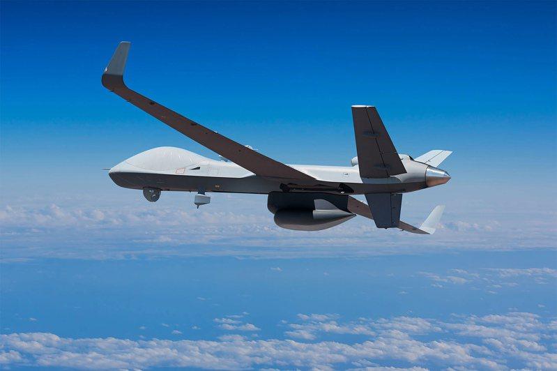 圖為MQ-9B SkyGuardian無人機。圖/取自General Atomics